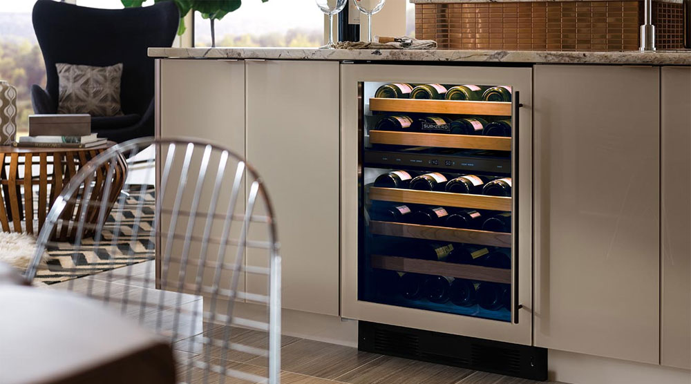 Sub-Zero Under-Counter Wine Fridge